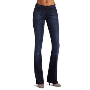 7 For All Mankind Dark High Waisted Bootcut Jeans
